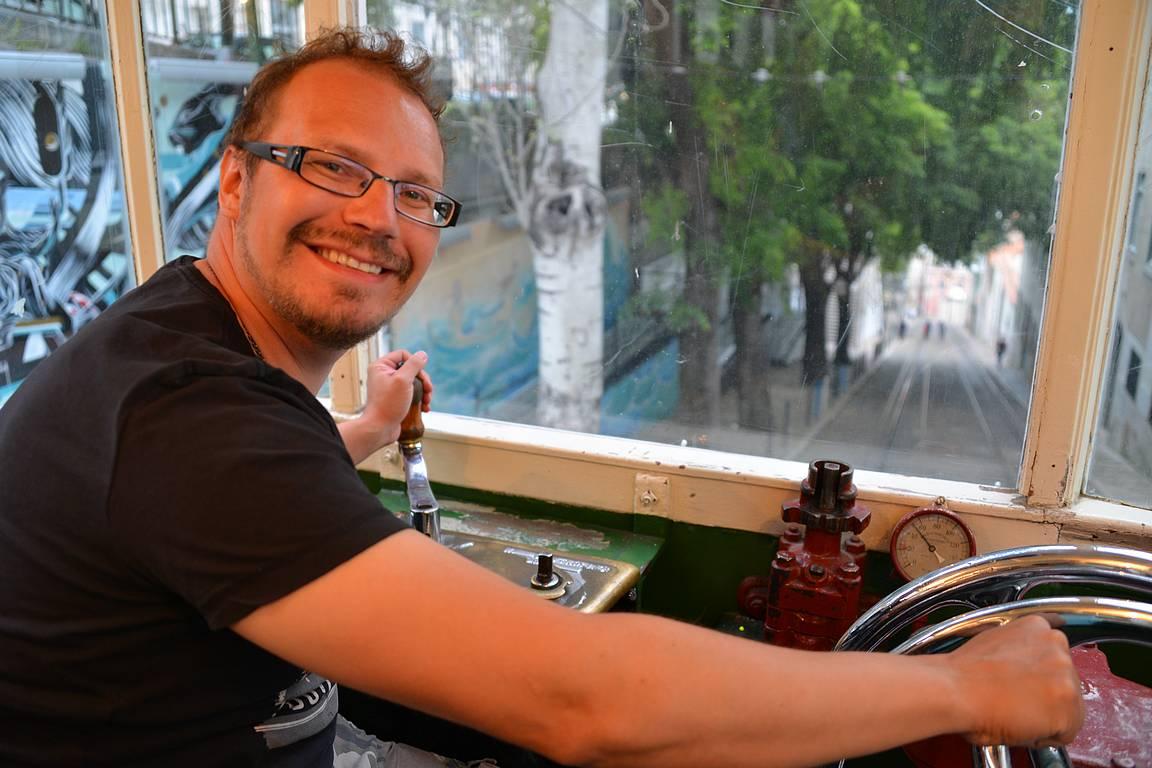 Funikulaarit ovat parasta Lissabonia.