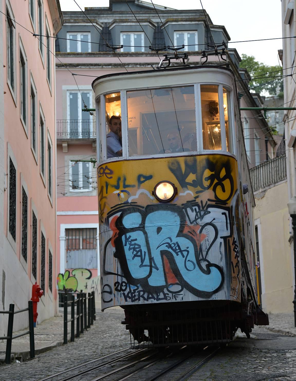 Funicularit ovat Lissabonin ykkösnähtävyys.