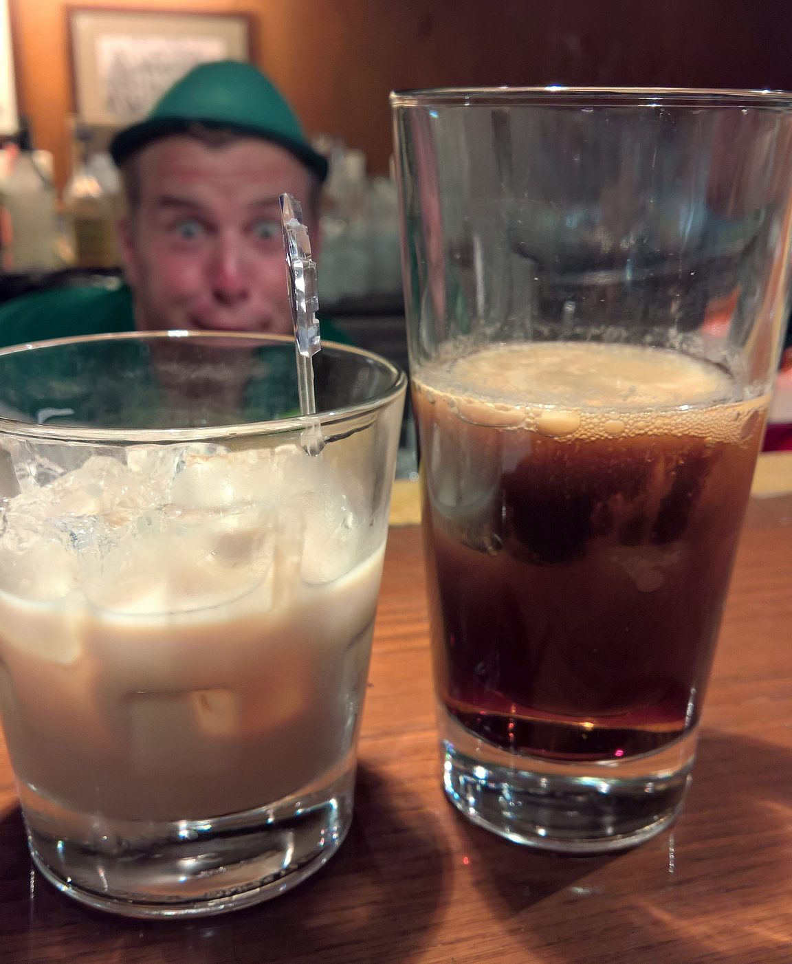 Baarimikko, Bailey's ja Irish Car Bomb.