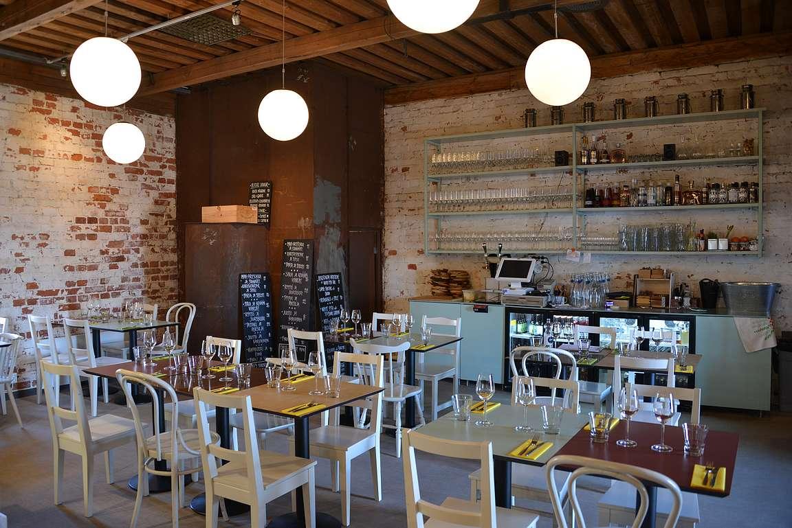 Myös A la carte -ravintolan sisustus on omaan mieleen sopiva.