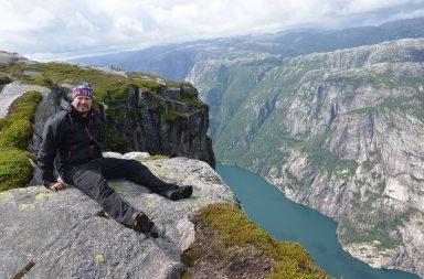 Retkeilyä Norjassa