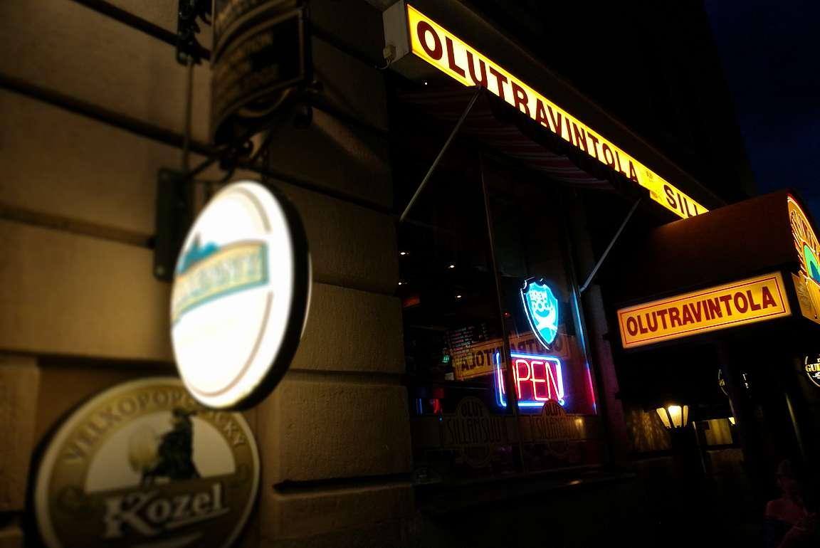 Olutravintola Sillansuu on kaupungin ykköspaikka oluen ystävälle.