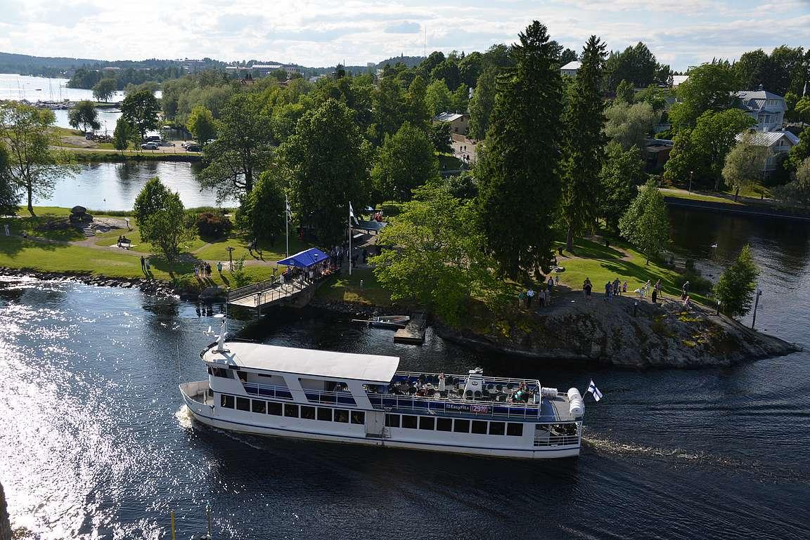 Savonlinna ja matkustaja-alukset ovat kesän kohokohtia-