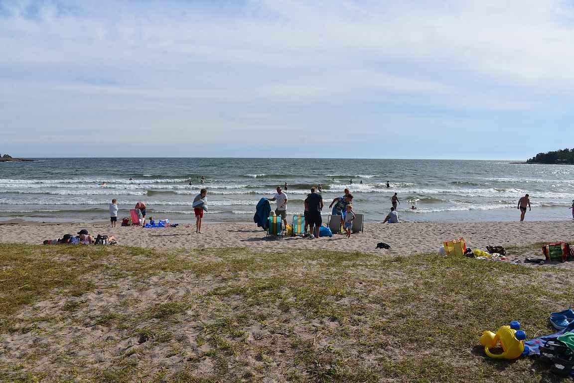 Degersundin ranta on Euroopan vähemmän tunnettuja helmiä.