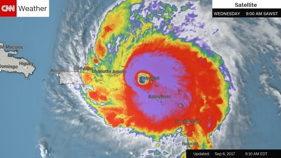 Hurrikaani Irma tuhosi paratiisin.