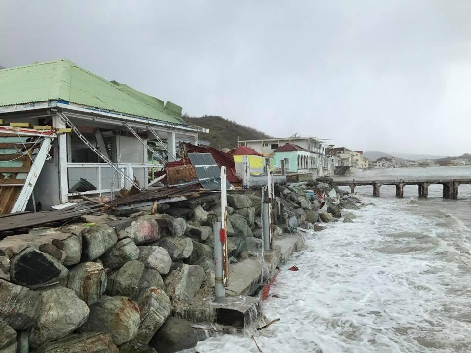 Hurrikaanin Irman jäljiltä sama paikka. copyright Reuters