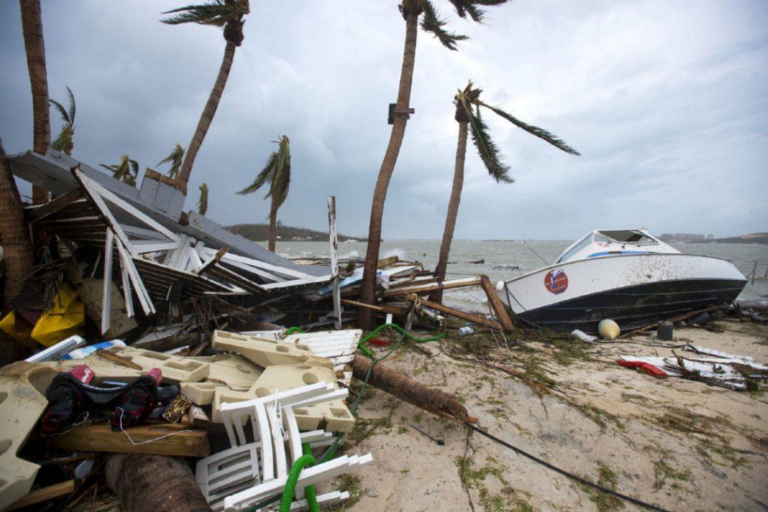 ... ja hurrikaani Irman jälkeen kauheudessaan. copyright Lionel Chamoiseau