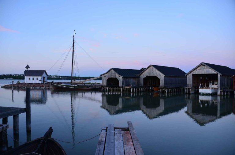 Maarianhaminan Merikortteli on kappale Ahvenanmaan merenkulkuhistoriaa.
