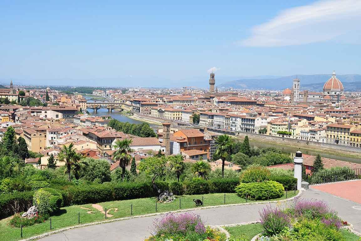 Firenze - kaupunki kuin ulkoilmamuseo.