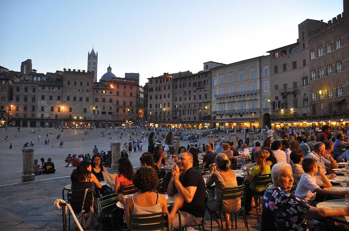 Piazza del Campo - Siena