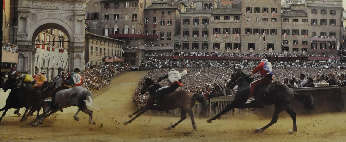 Sienan Palio on perinteinen tapahtuma.