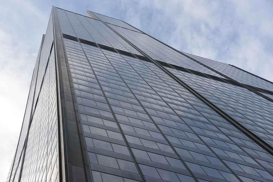 Sekä Willis Tower...