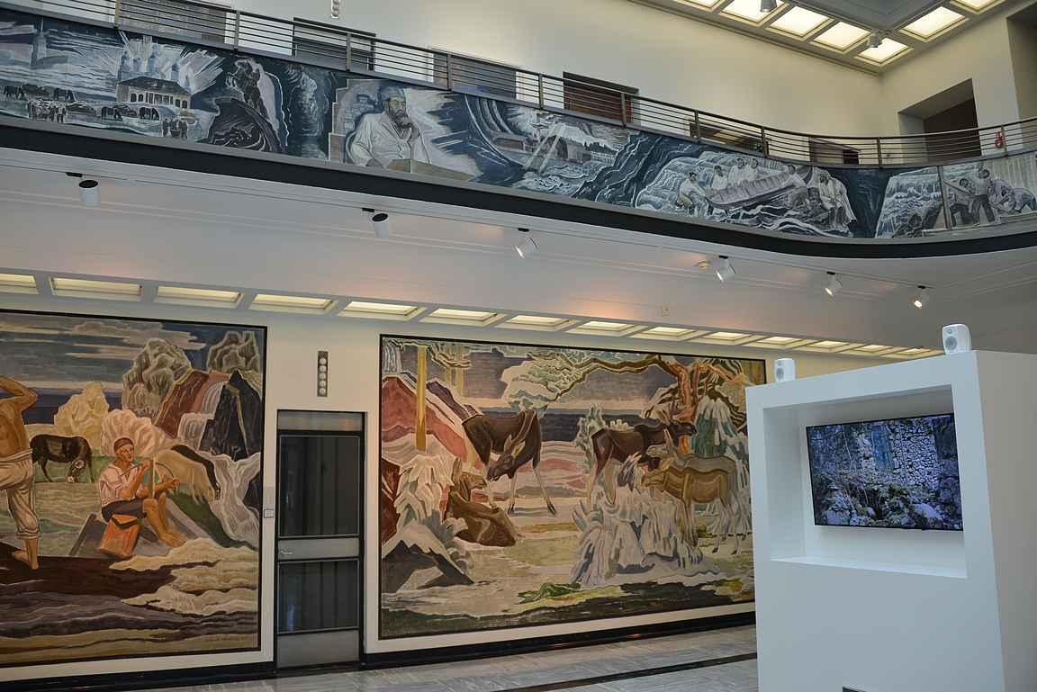 Gustaf-museo toimii vanhassa Serlachius yhtymän pääkonttorissa.