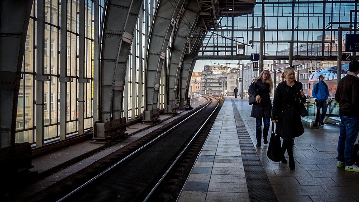 Berliini on lyhyen junamatkan päässä.