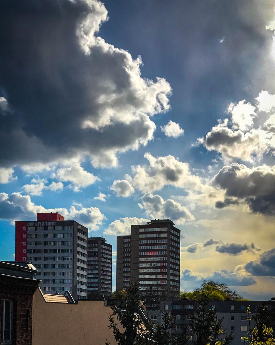Frankfurt an der Orderin kolmoistornit.