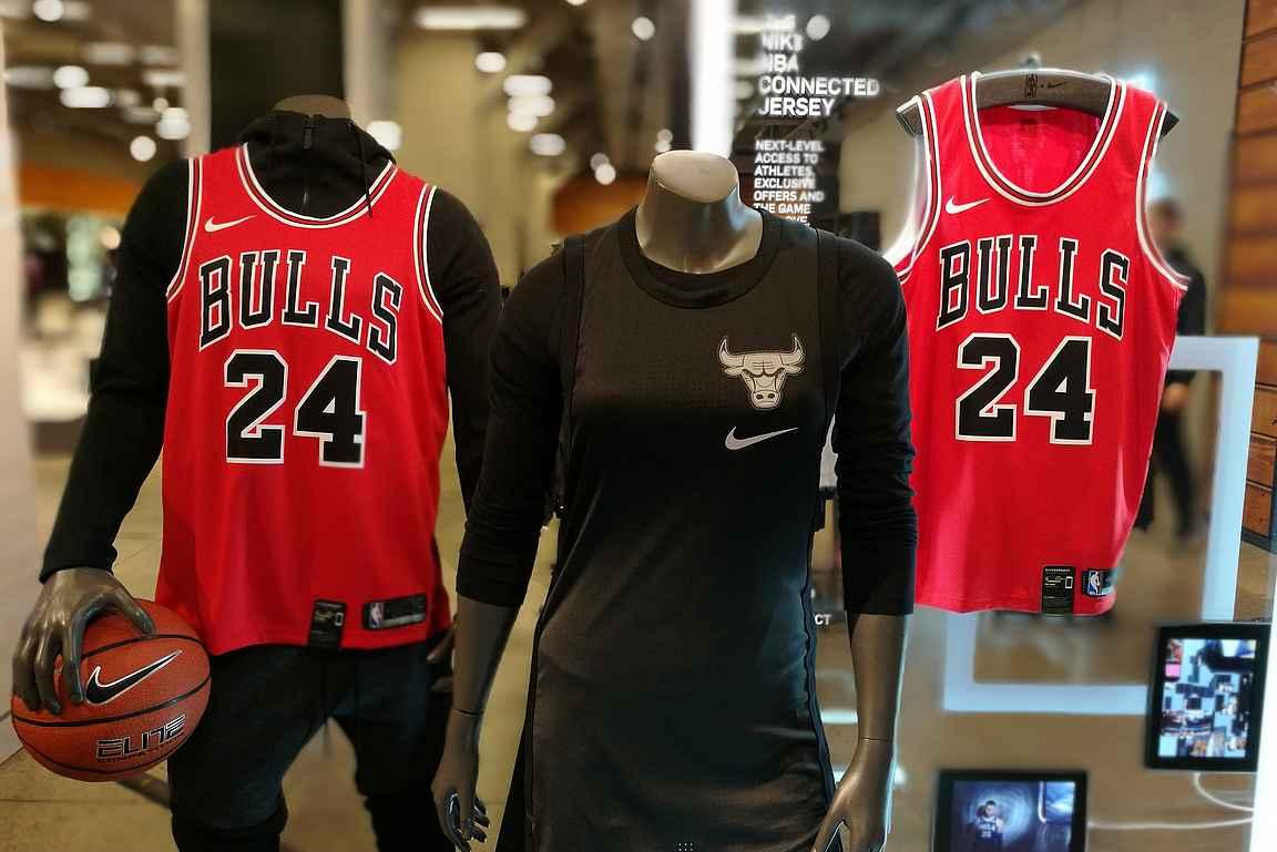 Niken myymälä Chicagossa ennen kauden alkua.