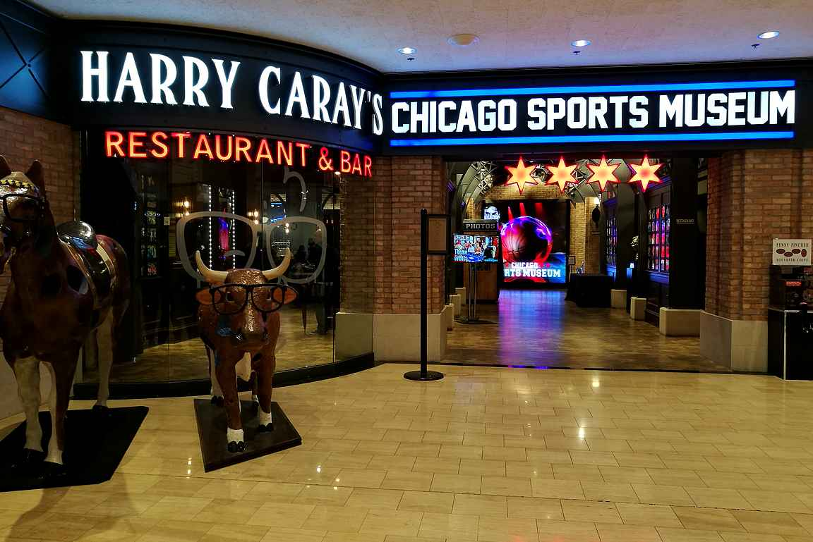 Harry Caray's Chicago Sports Museum.