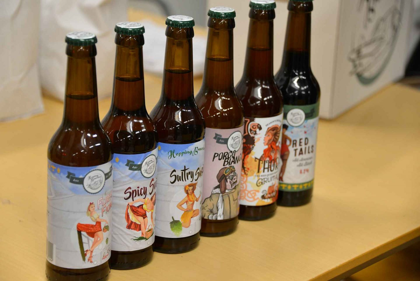 Hopping Brewsters - behind the scenes tour