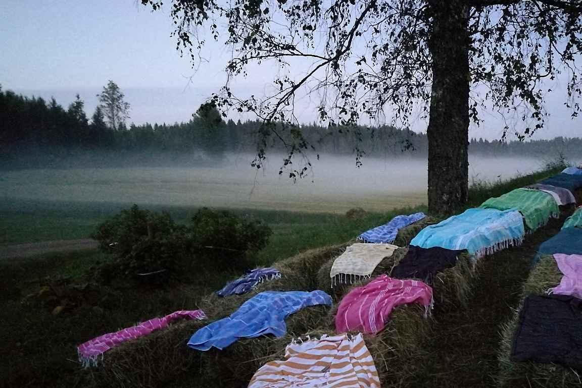 Kymenmaalla vietettiin kesällä Ikiloma -vloggaajien unelmahäitä.