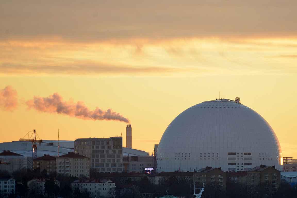 Globen on osa Suomen urheiluhistoriaa - 1995 nevö foget.