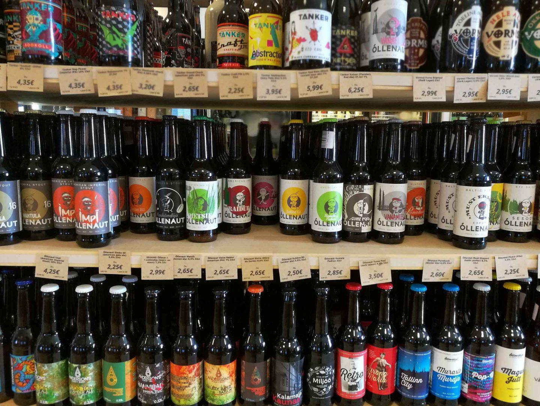 Pienpanimo-oluet Virosta - Tallinnan ja Tarton parhaat olutkaupat