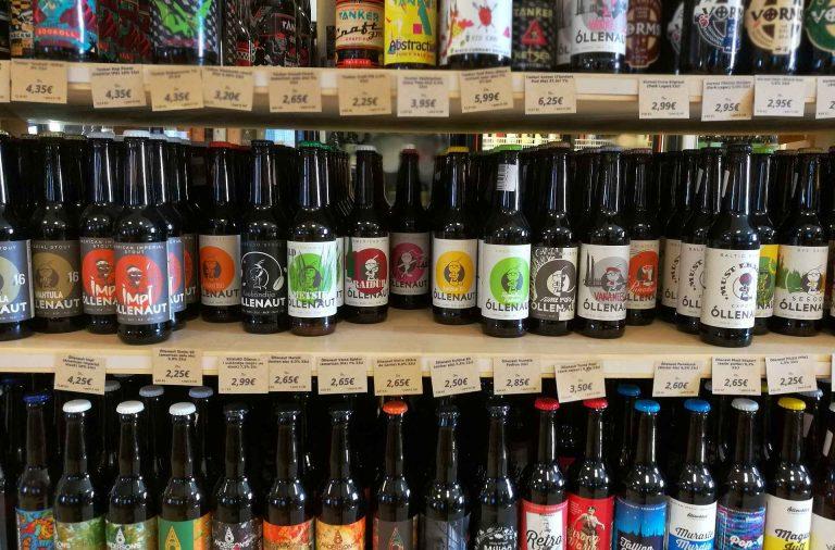 Virolaiset pienpanimo-oluet ovat varsin kattavasti edustettuna.