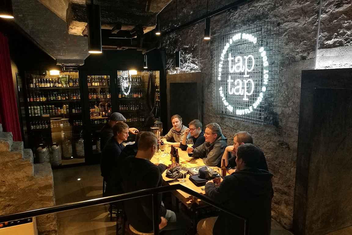 Tap Tap on ollut heti myös suomalaisten oluthipsterien tietoisuudessa.
