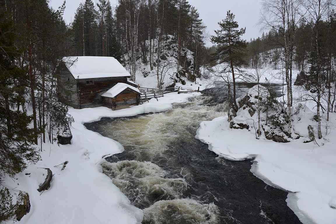Myllykoski on Suomen kuvatuimpia retkikohteita...