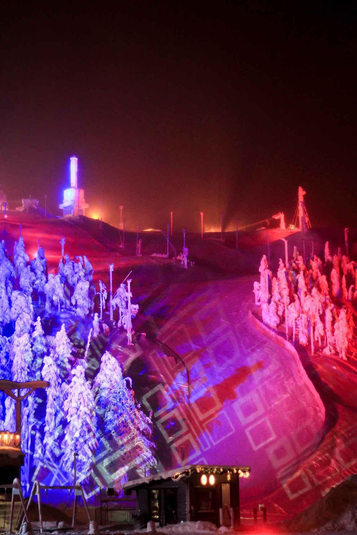 Polar Night Light Festival 2018 copyright Veera Vihervaara