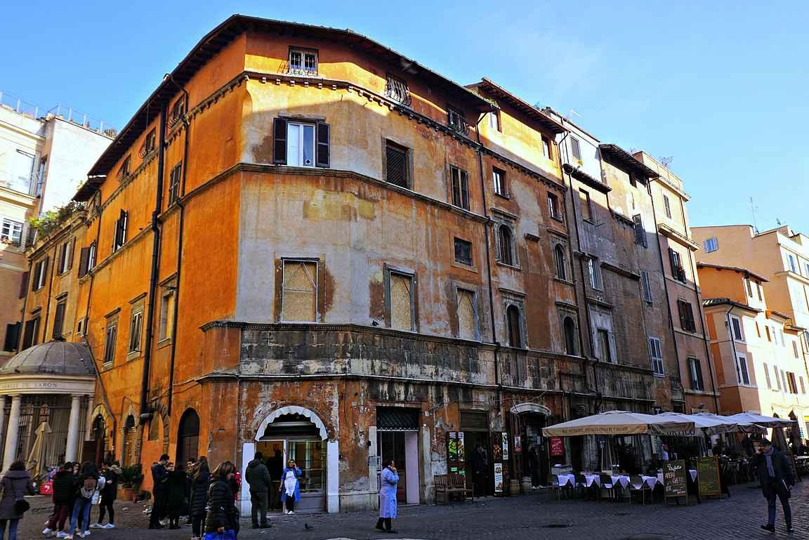Rooman ghetto copyright Kukkulalta / Heli