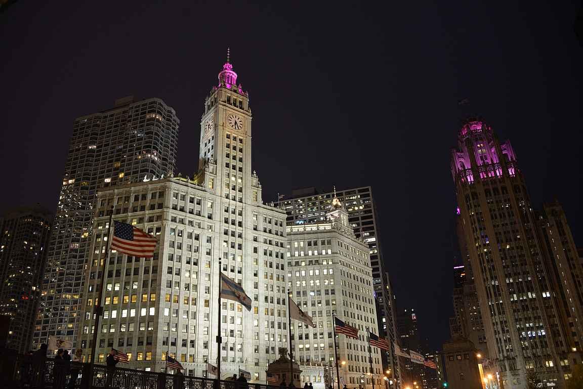 Chicago Tribune ja monta muuta arkkitehtuurillista helmeä.
