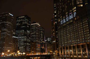 Musta teräs ja lasipinnat ovat Chicagon tunnusmerkki.