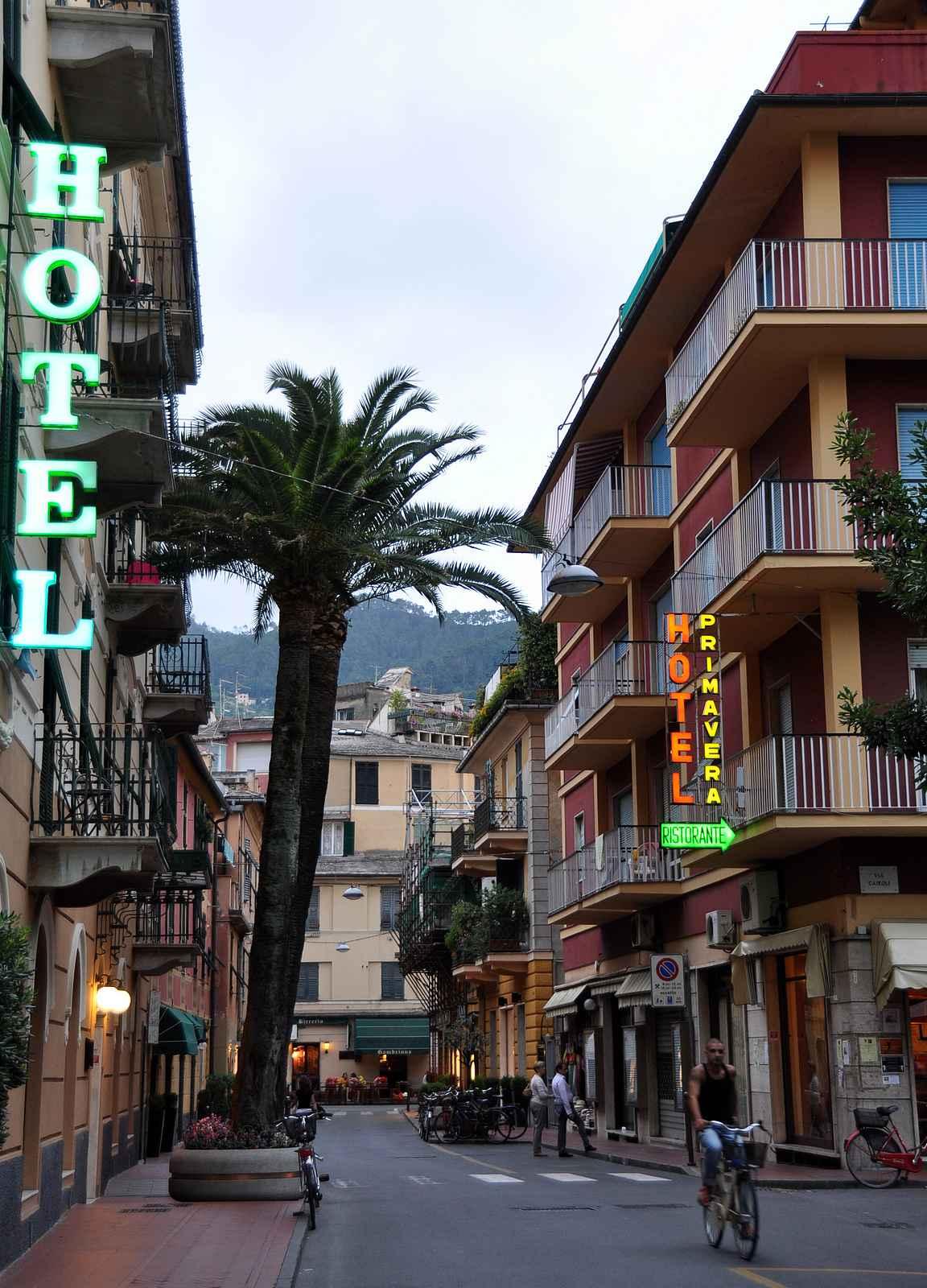 Levanto - lähin kaupunki Cinque Terren ulkopuolella.
