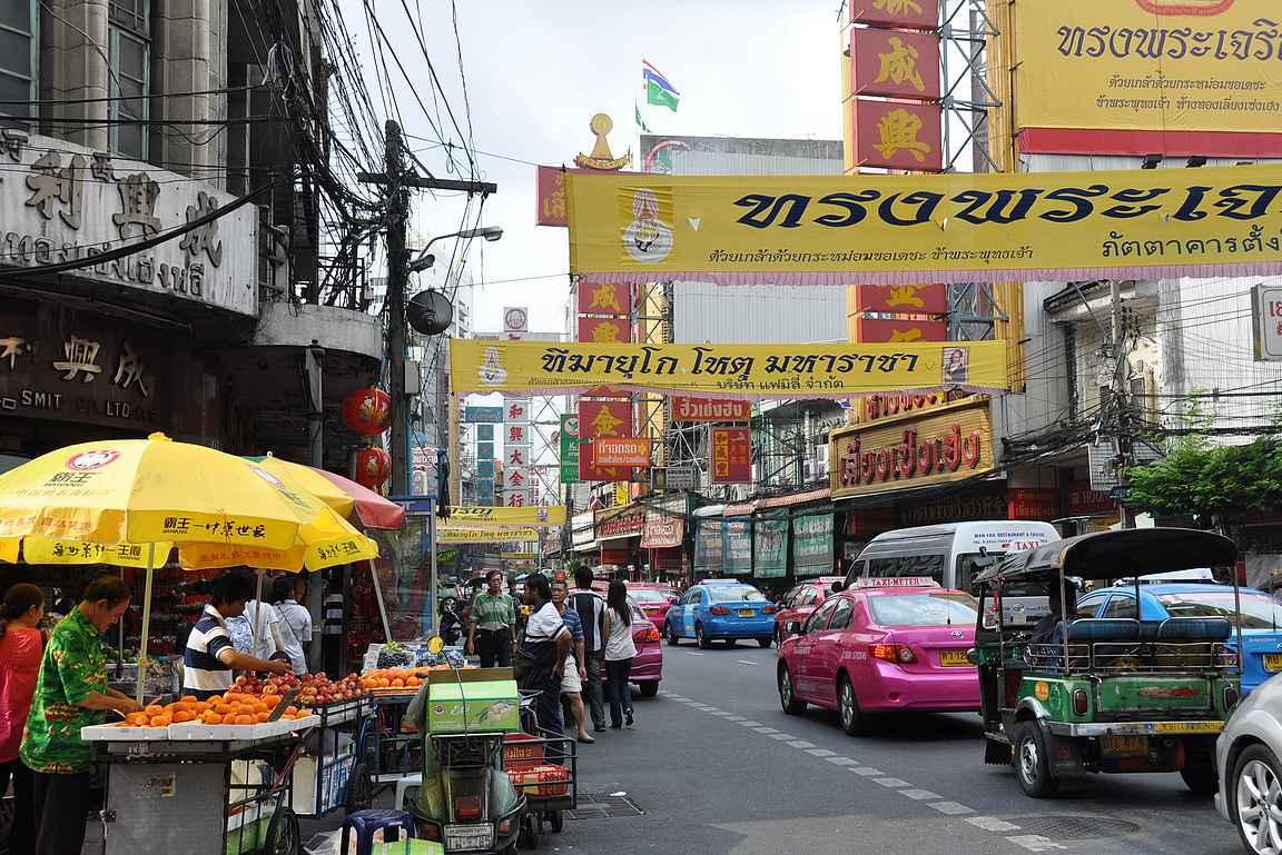 Bangkokin kaduilla parasta on tuoksut ja maut.