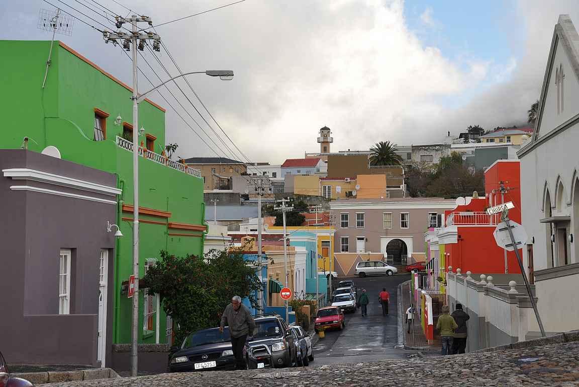 Bo-Kaapin muslimikaupunginosan värikkäät talot ovat upeaa katseltavaa.
