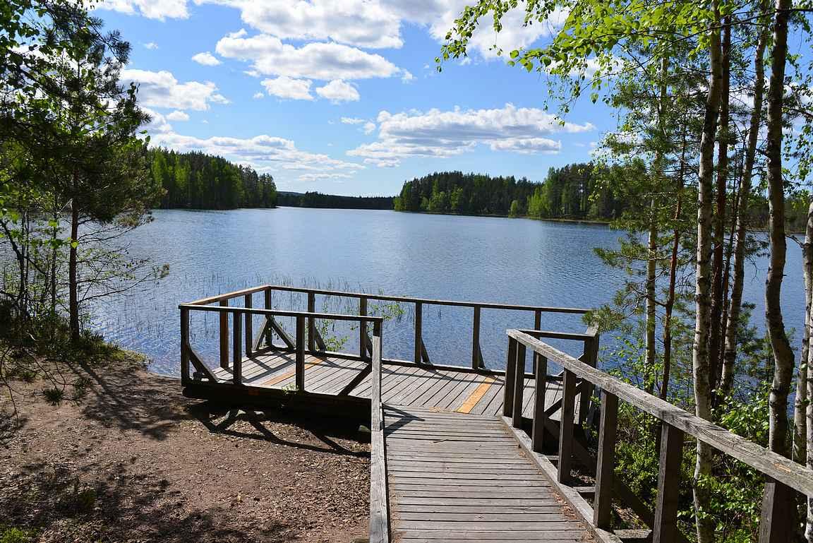 Harjujärvi, Leivonmäen kansallispuisto