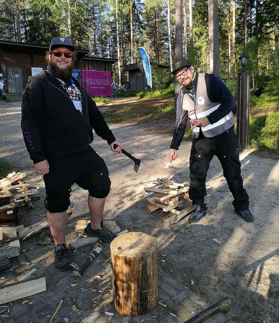 Härmälän kaupunkilaishisterit näytti retkeilyjoukkueille mallia ja nousi erätaitorastilla neljänneltä sijalta kärkeen...