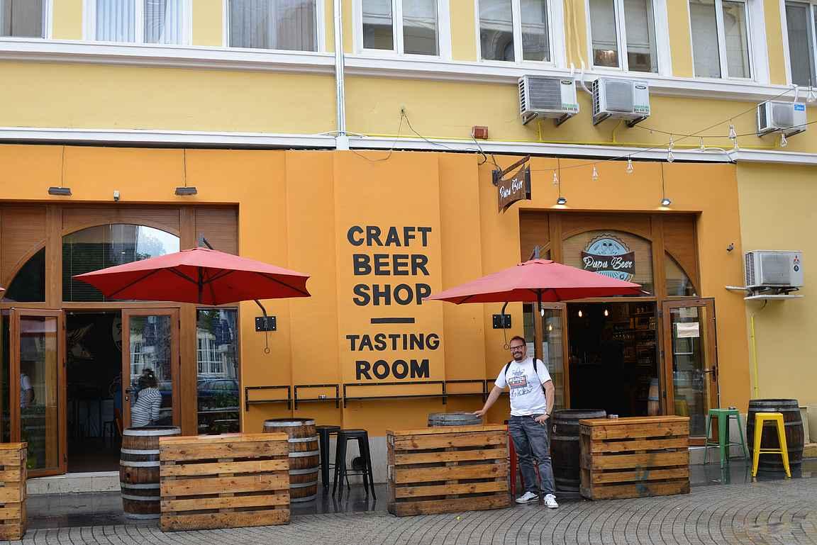 Papa beer - oluen ystävän taivas sekä valikoiman että hintojen puolesta.
