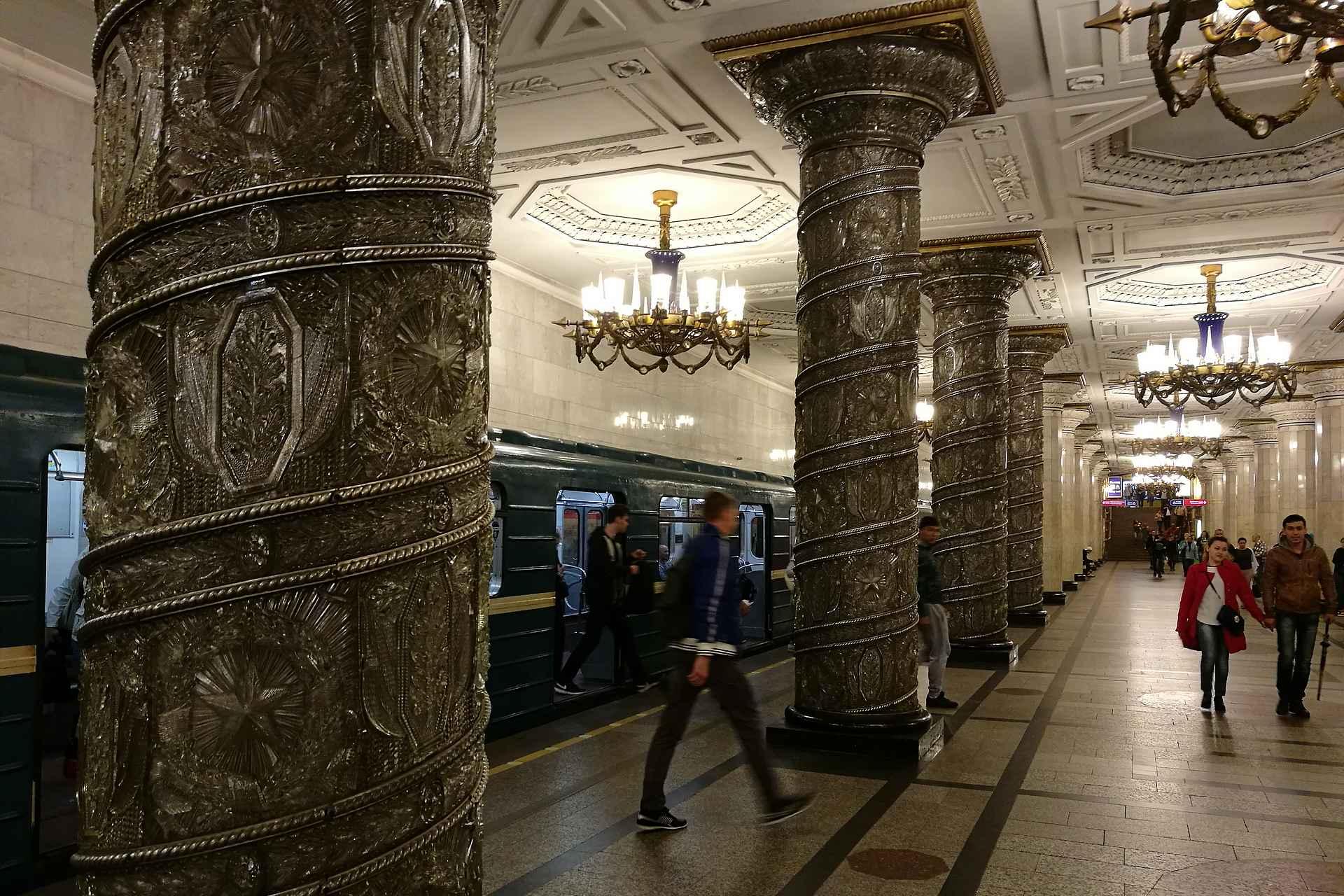 Avtovo - täältä lähti Pietarin ensimmäinen metrojuna vuonna 1955.