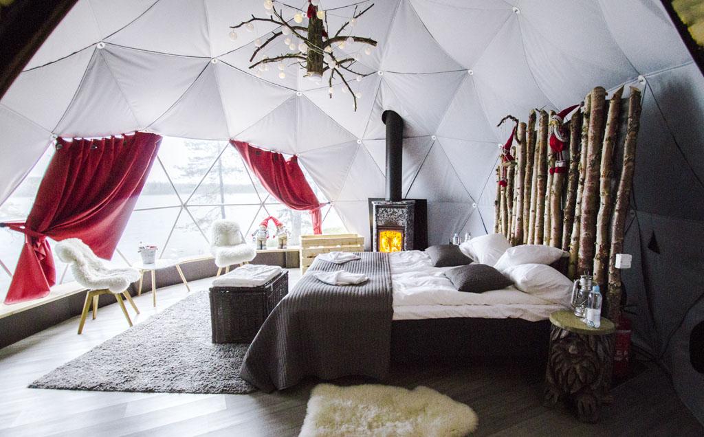 Aurora Dome luksusteltta copyright La Vida Loca 2.0
