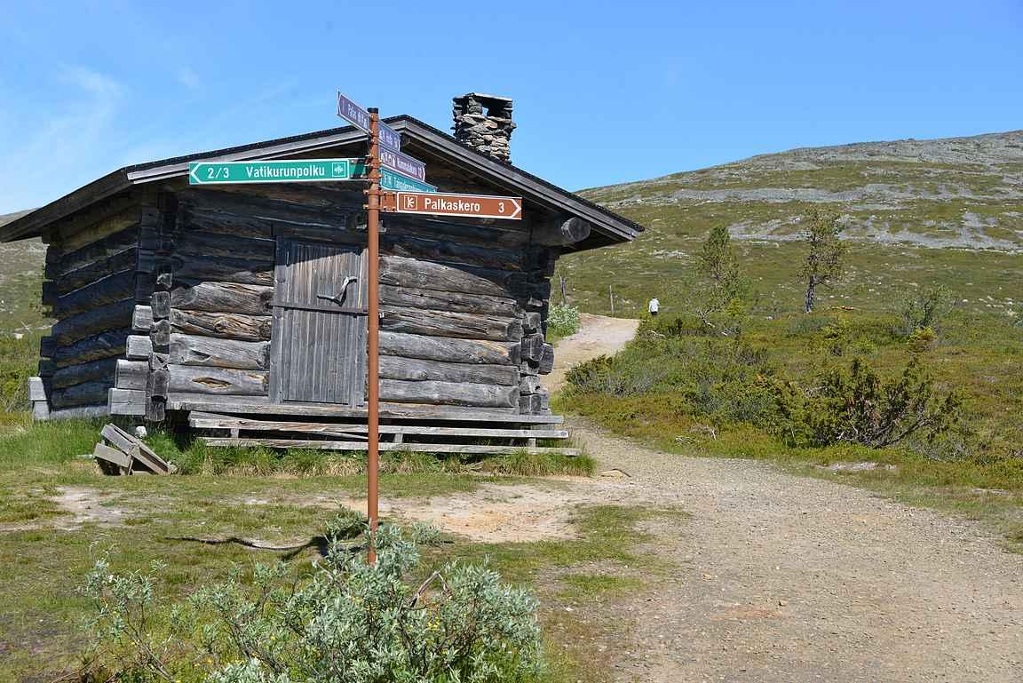 Pallas-Ylläksen kansallispuisto on helposti saavutettavissa eri ilmansuunnista.