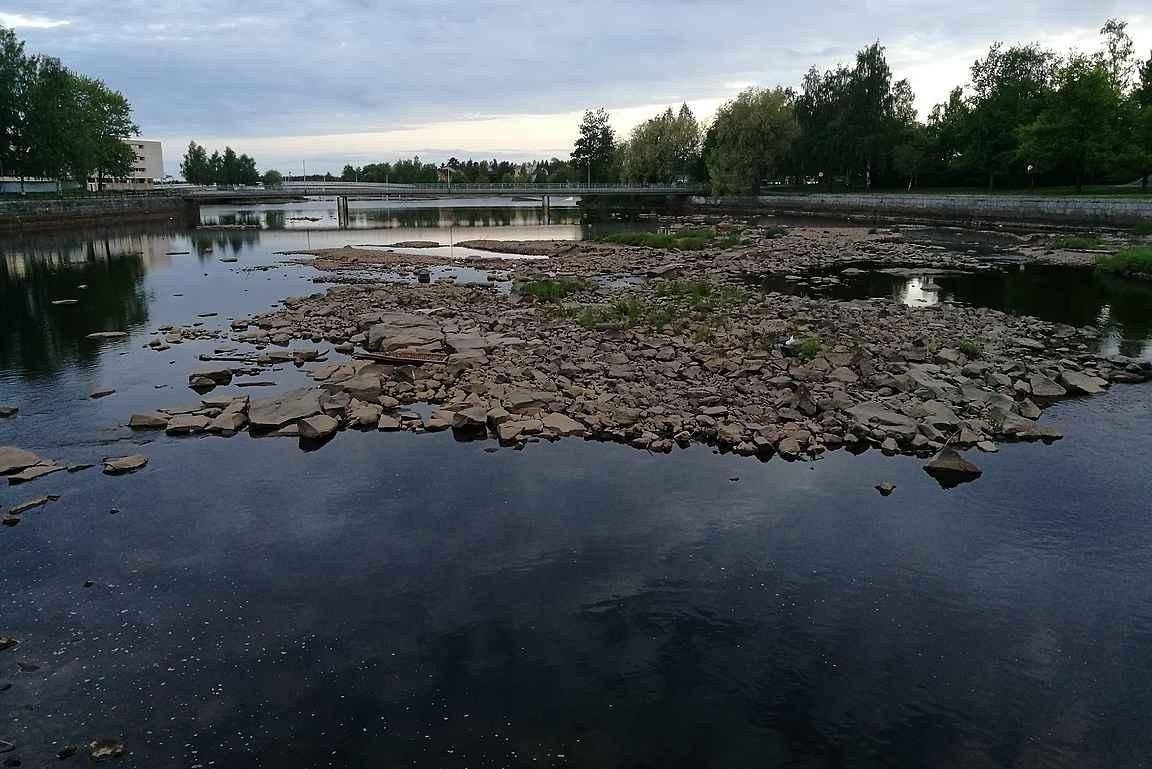 Torirannasta voi jatkaa kävelyretkeä myös Pokkisenväylän kautta kohti Ainolan Puistoa.