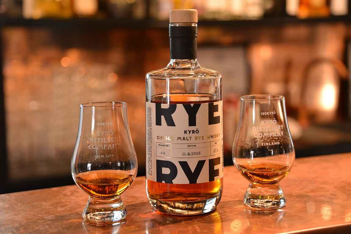 Kyrö Single Malt Rye Whisky - saatavuus ensimmäisillä erillä on vielä varsin rajoittunutta.