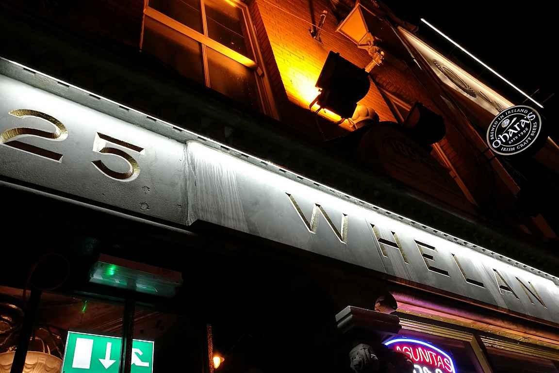 Whelan's on kaupungin tunnetuimpia musiikkibaareja.