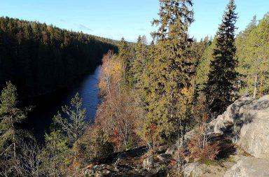 Helvetinjärven kansallispuisto.