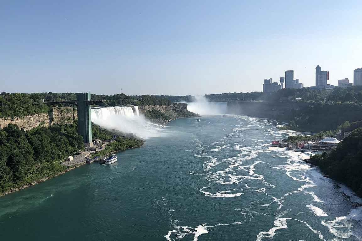 Niagaran putoukset ovat helposti yhdistettävissä Finger Lakesin alueeseen.