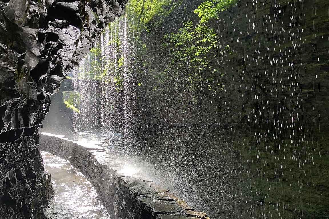 Finger Lakesin alueella on upeita luontokohteita.