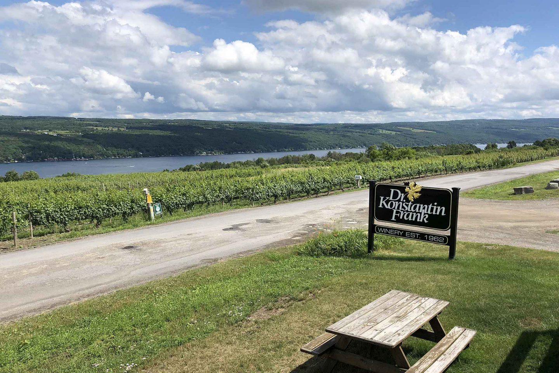 Finger Lakesin viinitilat ja pienpanimot