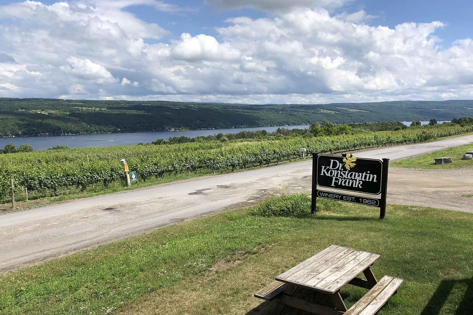 Finger Lakes viinibuumin isä Dr. Konstantin Frank