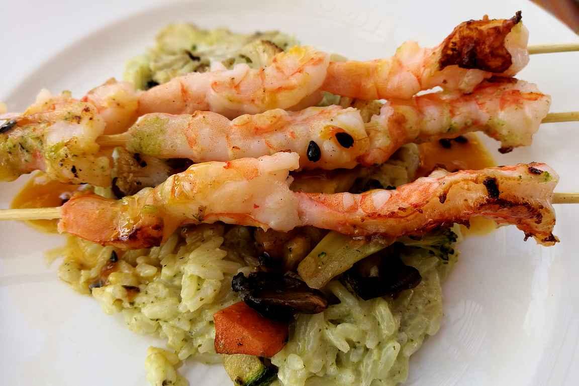 Merenelävät lautasella ovat taatusti tuoreita Puerto Vallartassa.
